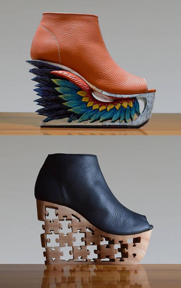 Udah punya belum, heels dengan ukiran kayu yang super unik dan keren gini?. Heels ini dinamakan Saigon Socialite yang dirancang oleh perusahaan fashion asal Vietnam, Fashion4Freedom. Inspirasinya adalah ukiran kuno khas Vietnam.