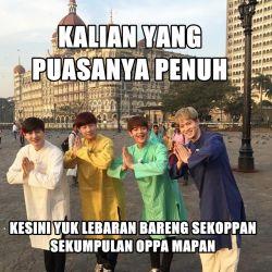 Kumpulan Meme Lebaran Ala K-Pop Lovers Ini Bikin Kamu Tersenyum Cerah dan Lebaranmu Makin Berwarna