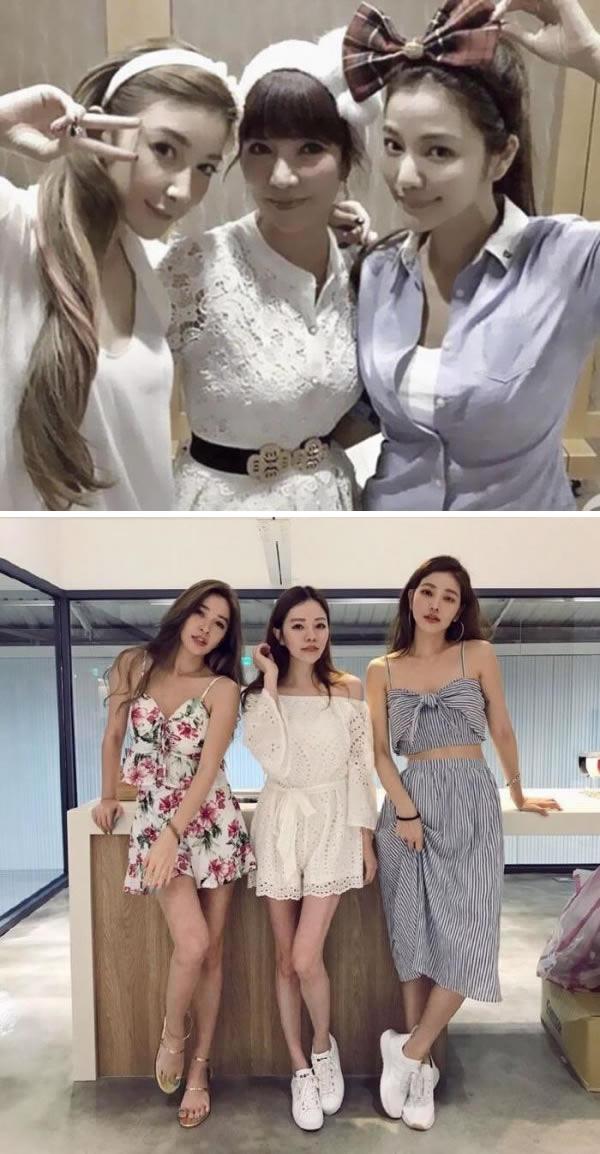 Ketiga wanita cantik asal Taiwan ini adalah ibu dan anak dalam satu keluarga pulsker. Di foto yang atas, sang ibu berusia 63 tahun dan di sisi kanannya adalah anaknya bernama Lure Hsu berusia 41 tahun dan sisi kirinya adalah sang adik, Sharon yang berusia 36 tahun. Nah, foto dibawahnya yang tengah adalah saudara mereka yang berusia 20 tahun bernama Fayfay.