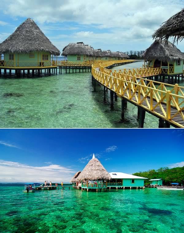 Terletak di semenanjung Isla Colon, Punta Caracol menawarkan keindahan bawah laut Panama yang menakjubkan. Kawasan ini terjaga dengan baik dan terdiri dari beberapa rumah-rumah penginapan dan restoran yang menyatu dengan alam. Salah satu resort termahalnya adalah Bocas del Toro.