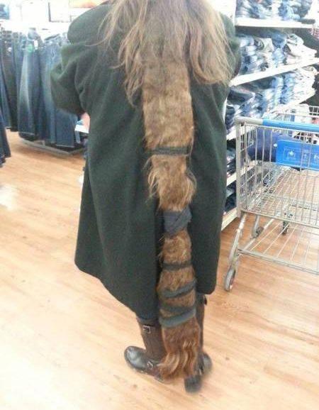 Kira-kira butuh waktu berapa lama ya buat manjangin sama bikin rambut biar bisa kayak gini?.