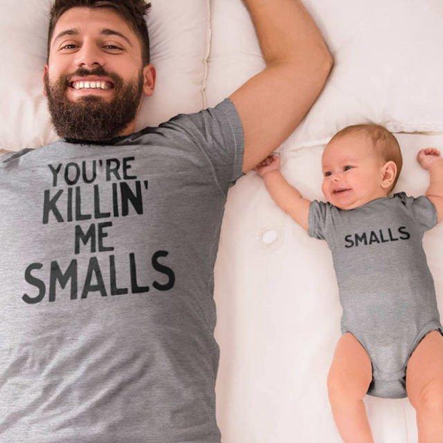 Hanya anak yang membunuh ayahnya dengan senyuman..so sweet!