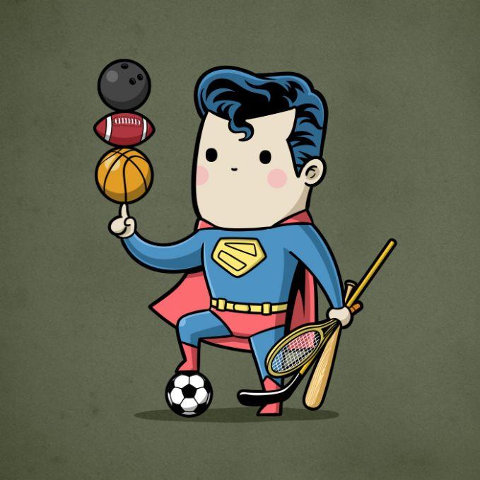 Superman mah apa aja bisa pulsker, multitalenta banget ya dia diantara superhero yang lainnya.