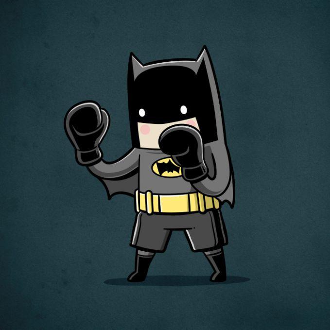 Ada yang mau tinju sama si Batman pulsker?. Dijamin deh, sekali kena gap langsung K.O nih lawan-lawannya. Hmm, mana nih superhero yang paling cocok kalau seandainya mereka jadi atlet menurut kalian pulsker?.