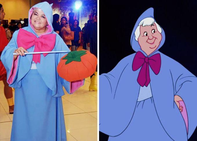 Nggak berhenti sampai disitu saja Pulsker. Dia juga pernah berdandan layaknya peri yang ada dalam dongeng Cinderella.
