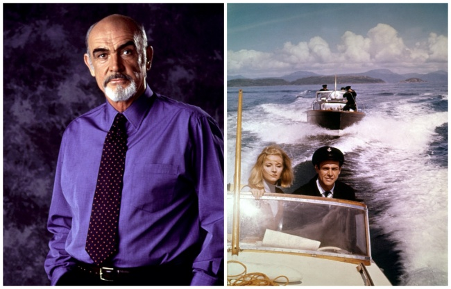 Sean Connery dalam film James Bond. Saya selalu membenci James Bond sialan itu, saya ingin membunuhnya. Kata-kata ini milik Sean Connery sendiri. Menurut Sir Sean, James Bond dengan cepat menjadi parodi dirinya sendiri. Dipercaya bahwa ketidaksukaan aktor James Bond membuatnya menyumbangkan semua uangnya dari Diamonds Are Forever untuk amal. Ckckck, ada-ada aja yah.