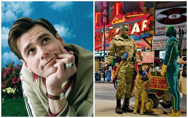 Jim Carrey dari Kick Ass 2! Jim Carrey memikirkan kembali keikutsertaannya dalam film ini setelah tragedi Sandy Hook, saat seorang pemuda mulai menembaki sebuah sekolah dasar. Aktor tersebut mengatakan bahwa, meski dia tidak malu dengan peran Kolonel, dia tidak mendukung kekerasan, terutama dalam skala ini.