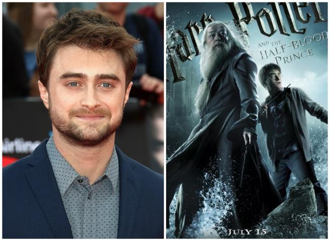 Yang pertama ada Daniel Radcliffe dalam film Harry Potter and the Half-Blood Prince. Disini Daniel mengatakan bahwa dia tidak begitu suka dengan tersebut, karena perannya yang awful.