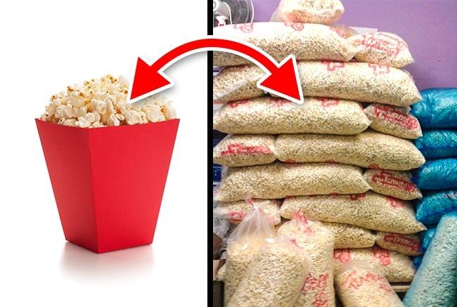 Yang pertama, popcorn yang dijual di bioskop tidak selalu dalam keadaan fresh. Biasanya jika masih ada stock, popcorn akan dihangatkan dan dijual kembali.
