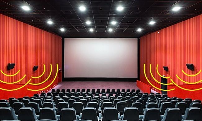 Speaker dalam bioskop tidak baik untuk kesehatan. Apalagi jika kita menonton film action atau perang dimana suara dentuman dan tembakan sering terjadi. BOOM!