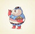 Superhero Badannya Buncit? Kocak Banget Jadinya!