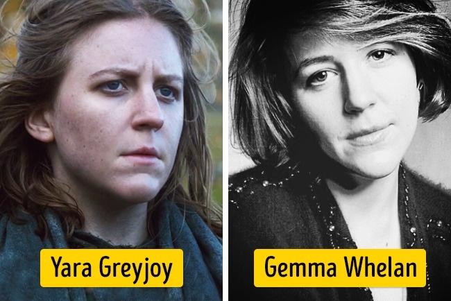 Sementara dalam serial 'Game of Thrones' ada sosok Yara Greyjoy yang diperankan Gemma Whelan. Penampilannya beda banget lho Pulsker kalau kalian sering stalking Twitternya. Dia nampak lebih cantik.