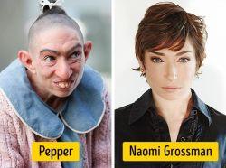 Siapa Sangka Dibalik Peran Culun dalam Beberapa Film Terkenal Ternyata Diperankan Oleh Aktris Cantik