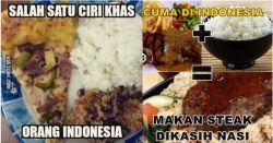 10 Meme Ini Membuktikan Kalau Nasi Adalah Makanan Pokok Orang Indonesia