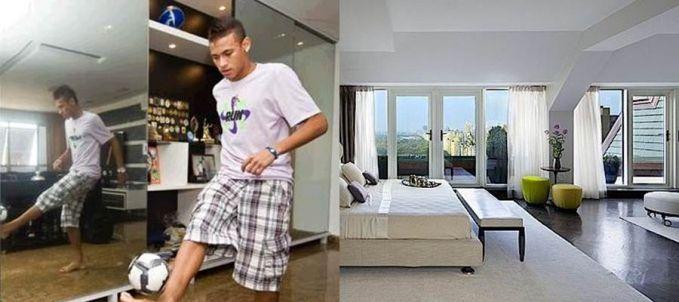 Gaji Neymar per 24 jam atau per hari dapat dibuat membeli apartemen mewah plus isi dalemannya. Wut? Pffft, kalo di Jakarta jadi jurgaan kontrakan nih. Wkwkwkw...
