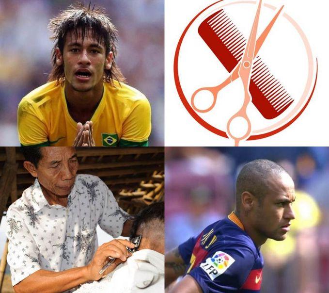 Yang ini paling kocak nih, gaji Neymar selama setahun bisa buat gratisin biaya orang Sumatera potong rambut loh Pulsker! Wkwkwkw...