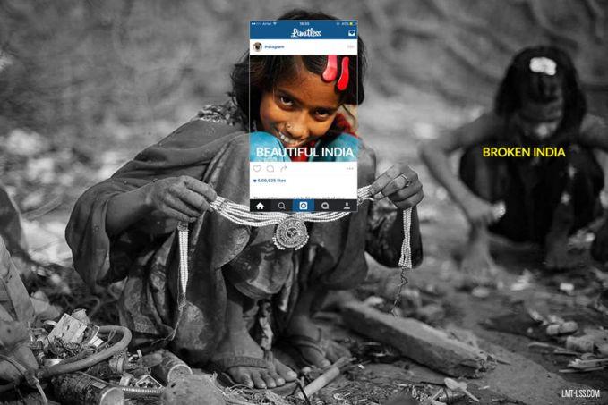 Ada kisah pilu dibalik senyum anak-anak India ini Pulsker. Mereka harus mengais-ngais sampah untuk menyambung hidup atau sekedar membantu orang tua mereka.
