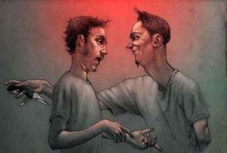 8 Karikatur yang Gambarkan Sifat Buruk Manusia, Jleb Banget Nih