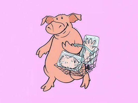 Saat daging manusia diperdagangkan dengan bebas, dan dibeli oleh hewan.