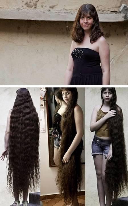Di Brasil ada gadis berumur 12 tahun dengan rambut sepanjang satu setengah meter bernama Natasha Moraes De Andrade. Di tinggal di sebuah pemukiman Rio de Jeaneiro. Karena keterbatasan ekonomi, dia akhirnya memotong rambutnya dan menjualnya seharga 5.000 dolar untuk membantu ekonomi keluarganya Pulsker.