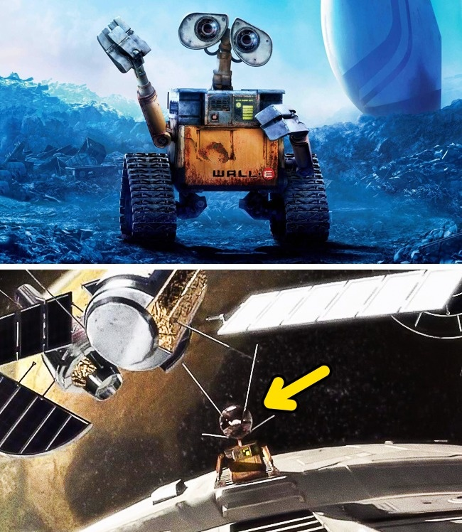 Ternyata WALL-E sebenarnya memang ada loh Pulsker, ia adalah satelit pertama yang diluncurkan di USSR.