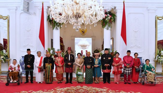 5 Hal Inspiratif yang Terlihat Saat Perayaan Hari Kemerdekaan Indonesia ke-72 di Istana Negara