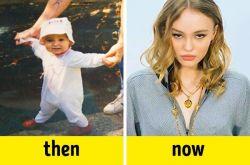 10 Potret Perbedaan Dulu dan Sekarang Anak Selebriti Terkenal