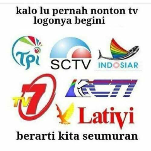 Ini adalah logo TV jaman dulu. Dan beberapa sudah tidak eksis lagi di layar kaca.