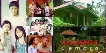 Satu lagi sinetron mendidik Indonsia yang paling diminati jaman dulu, yaitu Keluarga Cemara. Sedih banget nggak sih kalau melihat mereka jualan Opak?