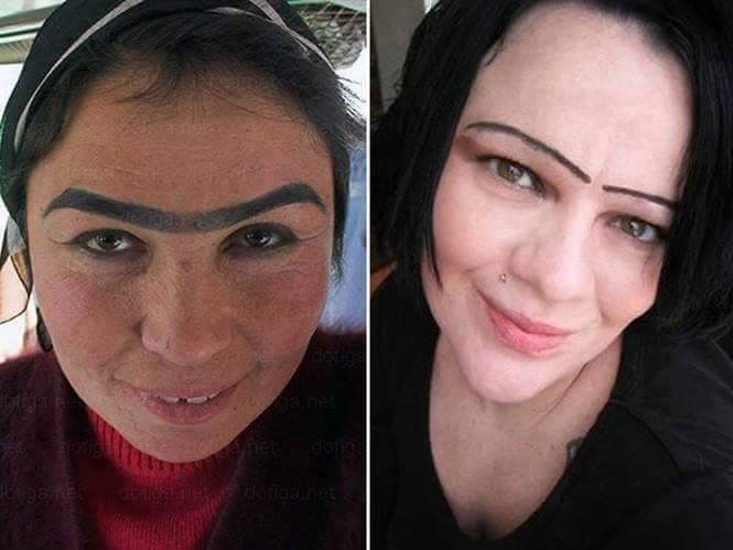 Atau dari kedua wanita ini kamu lebih memilih yang menyambung atau cuma yang garis aja?