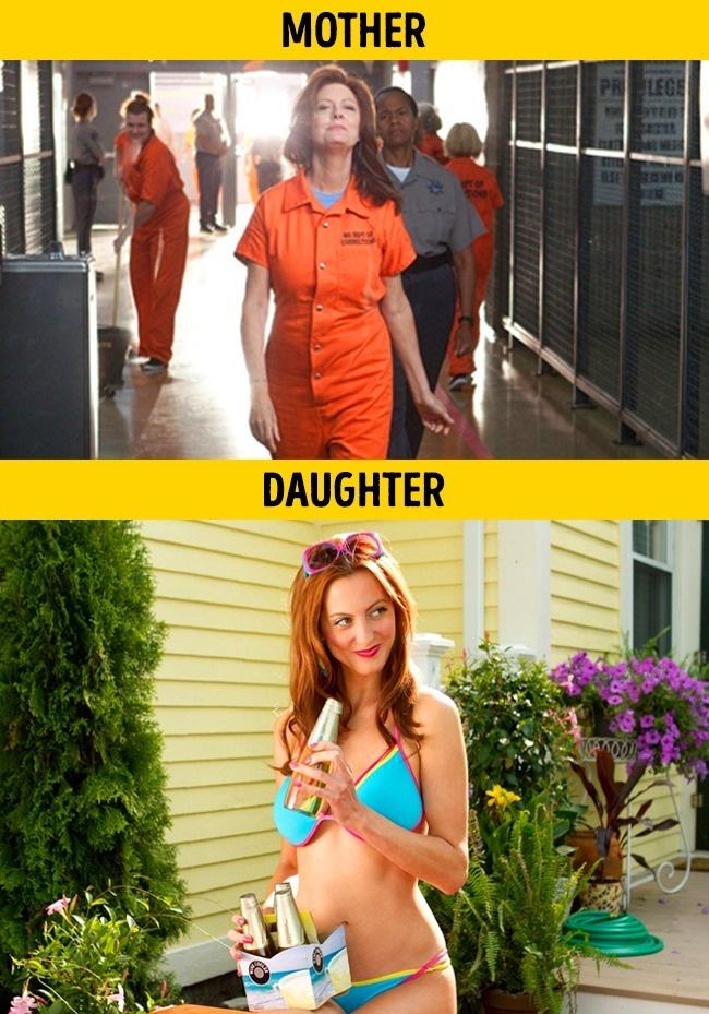 Pada film Thas My Boy yang diperankan oleh Ibu dan anak Susan Sarandon dan Eva Aamurri.