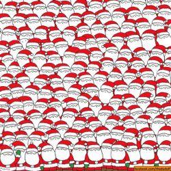 Ayo Cari Domba di gambar Santa Clause ini !!!