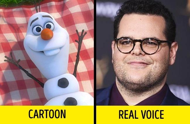 Siapa sangka bahwa yang mengisi suara Olaf dalam Frozen adalah Josh Gad. Olaf sendiri merupakan sosok manusia salju yang menyukai musim panas.