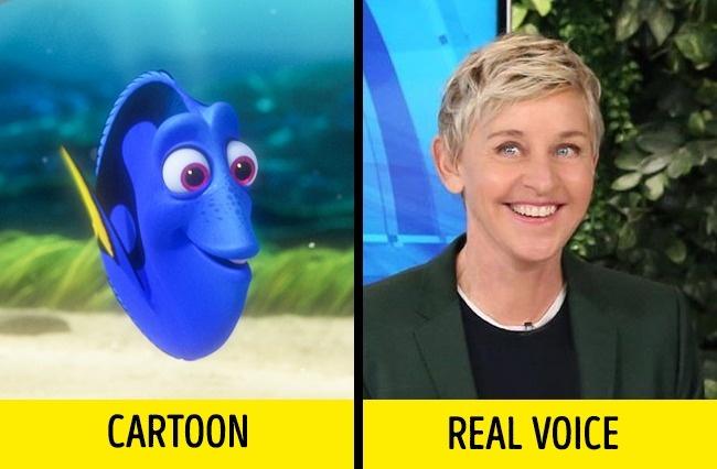 Dory dalam film Finding Dory yang suaranya diisi oleh Aktris cantik Ellen DeGeneres.