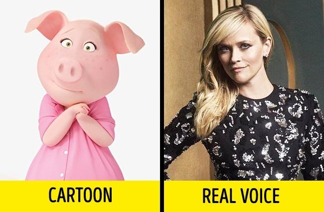 Aktris cantik Reese Whiterspoon yang mengisi suara babi cantik bernama Rosita dalam film Sing.