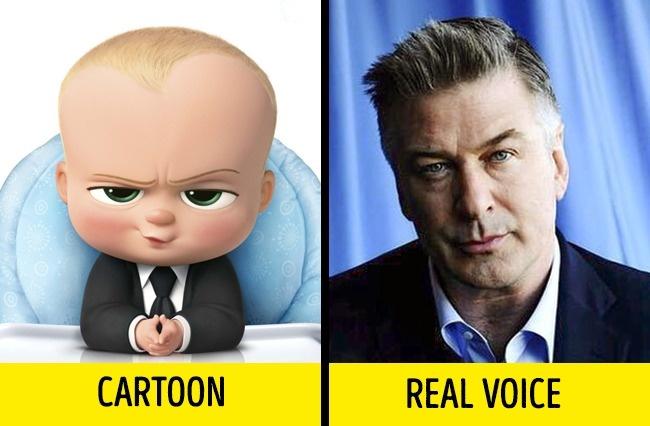 Terakhir ada Alex Baldwin yang mengisi suara karakter baru sekaligus fenomenal yaitu Boss Baby dalam film The Baby Boss.