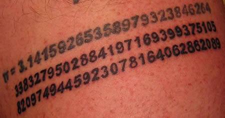 Waduh, nomornya panjang amat ya Pulsker?. Nomor apa aja nih?. Saking susahnya buat dihafalin sampai dibuat tato.