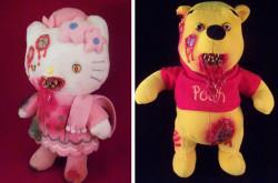 Penampakan Jika Boneka Unyu Berubah Jadi Zombie, Lucu Tapi Serem Juga
