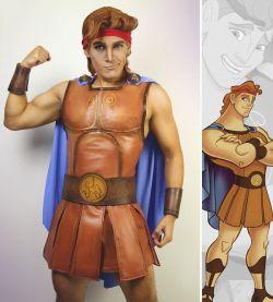 Gokil, Cosplayer Ini Sukses Tirukan Gaya Tokoh Pria dalam Kartun Disney Nyaris Sempurna