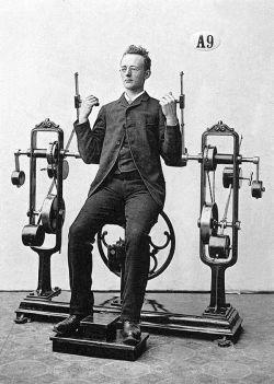 Tetap Necis, Begini Gaya Orang-Orang Elit di Era Victoria Dulu Pergi ke Gym