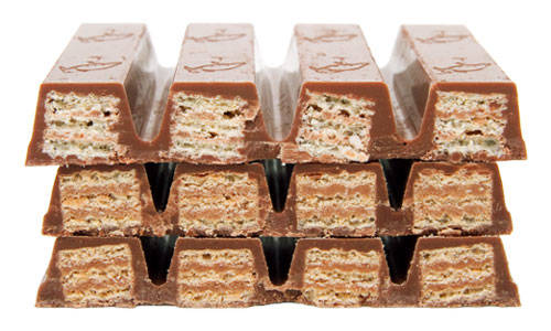 Nama 'KitKat' ternyata sudah ada sejak abad ke-17 silam Pulsker. Sebuah kedai 'KitKat' di London dulunya sering dikunjungi banyak orang, dan menu andalannya dulu adalah pie daging yang diberi nama 'Kit Cats'.
