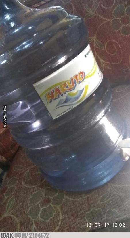 Bisnis sampingan Naruto pun banyak dan ada dimana-mana. Salah satunya adalah membuka depo pengisian air minum.