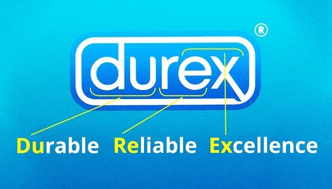 Kalau yang ini adalah produk kontrasepsi Pulsker. Kondom bermerek 'Durex' ini juga memiliki kepanjangan, yakni 'Durable, Reliable, Excellence'.