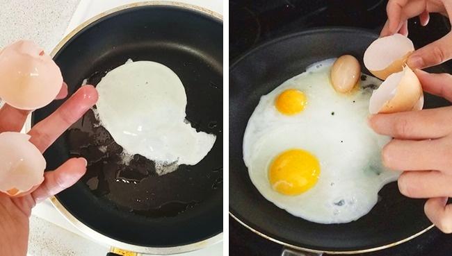 Wah..di dalam telur ada telur lagi!! Benar-benar keajaiban.