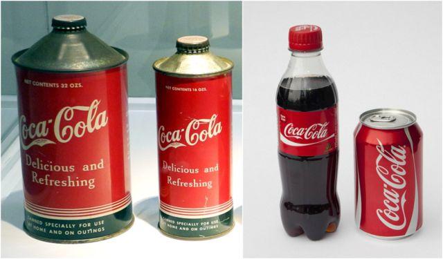 Lah, minuman berkarbonasi Coca-Cola jaman dulu kemasannya kok mirip sama kemasan pestisida ya Pulsker?.