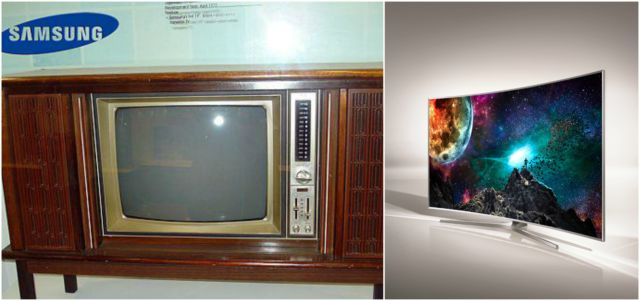 Hayoo, siapa yang dirumah nenek masih punya TV jadul kayak gini?. TV Samsung tersebut dulu canggih banget Pulsker, seiring berkembangnya jaman lahirlah TV yang lebih mutakhir.