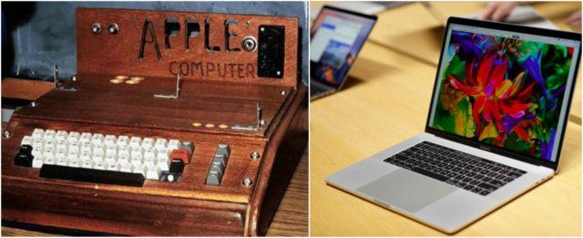 Apalagi perusahaan elektronik Apple. Mesin ketiknya masih terbuat dari kayu, kalau sekarang udah pasti makin canggih dengan fitur dan bahan terkini pastinya.