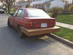 10 Penampakan Reparasi Mobil yang Super Nyeleneh