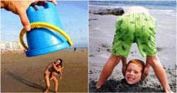 Bukan Cuma Pegang Kamera, Coba 10 Pose Gokil Ini Saat Liburan ke Pantai