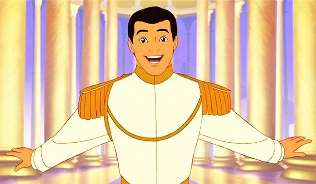 Dalam film Cinderella, pangeran ini lupa dengan wajah Cinderella, padahal kalau cinta sejati kan pasti ingat wajahnya.